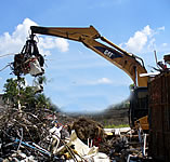 Reciclagem de sucatas