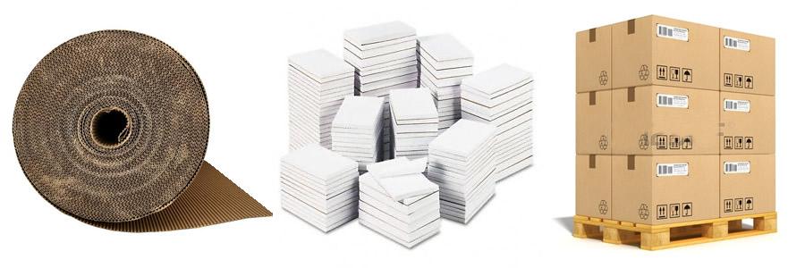 Reciclagem de papel papelão.