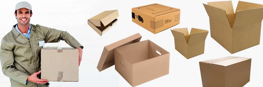 Caixas de papelão para mudanças